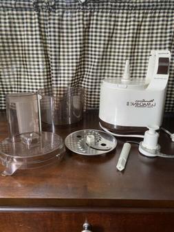 Vintage 80's Moulinex Regal LaMachine II Food Processor Mode