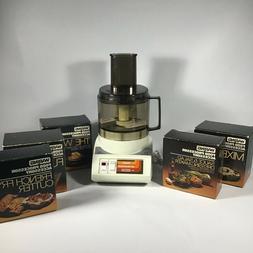Vintage Waring Food Processor FP510 4.2amp 120 Volt *never u