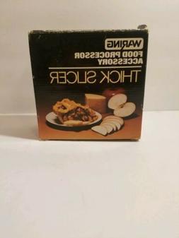 Vintage Waring Food Processor Fruit Vegetable Thick Slicer F